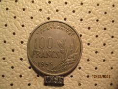 FRANCE 100 Francs 1955 # 6 - France