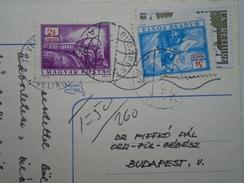 D155956 Hungary Postage Due -2 Ft + 3 Ft - 1982  Csuday Beáta Signature Autograph - Postage Due