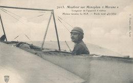 AVIATION )) MOUTHIER Sur Monoplan Morane  7015 - Aviatori