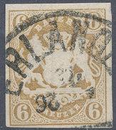 Stamp Bavaria 1867 6kr Used - Bavaria