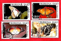 2951 - BURKINA  FASO (Poste Aéirenne)  1984  N° PA 272/75  Oblitérés - Burkina Faso (1984-...)