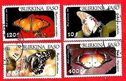 2952 - BURKINA  FASO (Poste Aéirenne)  1984  N° PA 272/75  Oblitérés - Burkina Faso (1984-...)