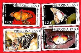 2953 - BURKINA  FASO (Poste Aéirenne)  1984  N° PA 272/75  Oblitérés - Burkina Faso (1984-...)