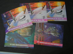 UNO Space Kosmos 2007 Lot Blöcke  ** MNH - Briefmarken
