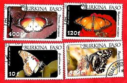 2955 - BURKINA  FASO (Poste Aéirenne)  1984  N° PA 272/75  Oblitérés - Burkina Faso (1984-...)