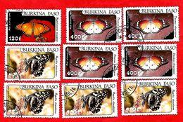 2956 - BURKINA  FASO (Poste Aéirenne)  1984 Lot De Timbres N° PA 273/75  Oblitérés - Burkina Faso (1984-...)