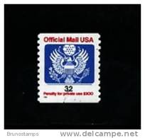 UNITED STATES/USA - 1995  OFFICIAL MAIL  32c.  COIL   MINT NH - Stati Uniti