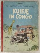 #20044[Boek - Strip] Kuifje In Congo / Hergé [= Georges Remi]. - [S.l.] : Casterman, Cop. 1947 - Kuifje