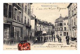 Rambervillers. Vosges. Rue Des Marchands. Devantures De Magasins. (2195) - Rambervillers