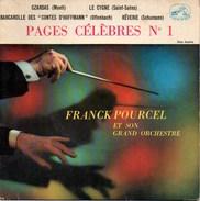 """45 Tours FRANCK POURCEL """"pages Céléèbres N° 1"""" La Voix De Son Maître 7 EGF 174 - Classical"""