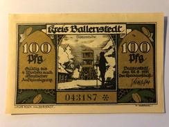 Allemagne Notgeld Frose 100 Pfennig - [ 3] 1918-1933 : Weimar Republic