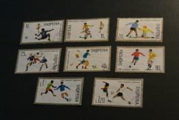 K13132- Set Used Albania -  1974- SC. 1570-15777- Worldcup Soccer  Munich - Coppa Del Mondo