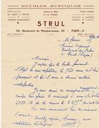 PARIS - STRULL - MEUBLES RUSTIQUES - 25 BOULEVARD DU MONTPARNASSE PARIS 6e - France