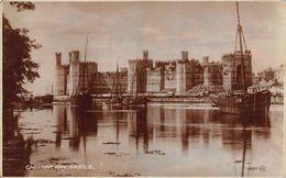 Pays De Galles - Wales - Caernarvon Castle - Caernarfon - Caernarvonshire