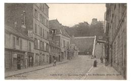 75 PARIS - 16ème, Le Vieux Passy, Rue Beethoven, Prise Du Quai - Arrondissement: 16