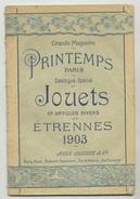 CATALOGUE MAGASINS PRINTEMPS, 1903 - 1900 - 1949