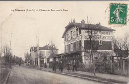 Vigneux/91/L'avenue De Parc,vers La Place/ Réf:fm224 - Autres Communes