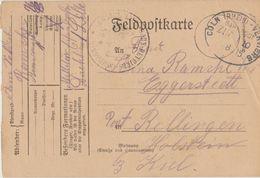 "11 100 Feldpostkarte Bahnpost ""CÖLN(RHEIN)-VERVIERS"" 1915 - Germany"