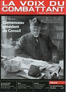 La Voix Du Combattant N°1830 12/2017 - UNC AISNE - Clémenceau - Riviste & Giornali