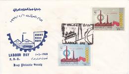 FDC, Premier Jour Iraq 1968. - Iraq