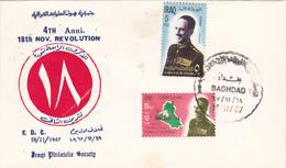 FDC, Premier Jour Iraq 1967. - Iraq