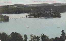 AK Crystal Lake Scenic View A Dakota Budsin Oshkosh Wautoma Coloma Montello Neshkoro Wisconsin WI United States USA - Oshkosh