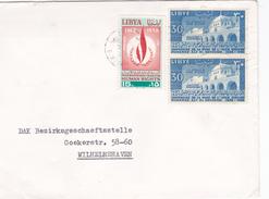 Lettre Libye. - Libia