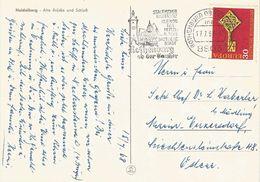 Germany 1968 Rothenburg EUROPA CEPT Viewcard - Europa-CEPT