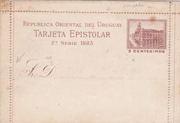 Entier Uruguay. - Uruguay