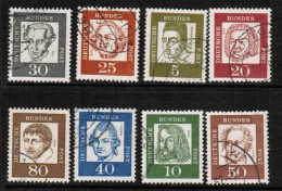GERMANY   Scott # 824-39 Including #835a  VF USED - [7] Federal Republic