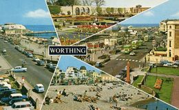 CPSM WORTHING - DIVERSES VUES - Worthing