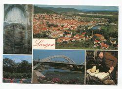 FRANCE- Carte Postale De LANGEAC (Haute Loire) Avec Cachet De BRIOUDE De 1987- Timbre Y&T N°2424 - Langeac