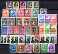 Luxembourg Belle Petite Collection Neufs Et Oblitérés 1929/1938. Bonnes Valeurs. B/TB. A Saisir! - Luxembourg