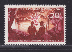 MADAGASCAR N°  395 ** MNH Neuf Sans Charnière, TB  (D2810) Scoutisme - Madagaskar (1960-...)