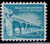 United States,1954-68, Liberty Issue, Governors Palace, 1 1/4c, Sc#1032, MNH - Vereinigte Staaten