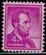 United States,1954-68, Liberty Issue, Abraham Lincoln, 4c, Sc#1036, MNH - Vereinigte Staaten