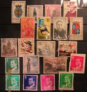 Spanien Mix Set Stamps Of Spain Espagne España Spagna Spanje Small Selection Of Fine Used 918 - 1961-70 Gebraucht