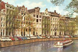 "Pays Bas - Nord-holland - Amsterdam - ""Vieilles Façades Herengracht"" - Euro Color Cards Nº CC719 - Ecrite - 3594 - Amsterdam"
