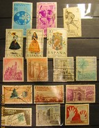 Spanien Mix Set Stamps Of Spain Espagne España Spagna Spanje Small Selection Of Fine Used 920 - 1961-70 Gebraucht
