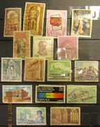 Spanien Mix Set Stamps Of Spain Espagne España Spagna Spanje Small Selection Of Fine Used 924 - 1961-70 Gebraucht