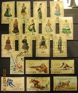 Spanien Mix Set Stamps Of Spain Espagne España Spagna Spanje Small Selection Of Fine Used 925 - 1961-70 Gebraucht