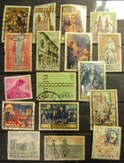 Spanien Mix Set Stamps Of Spain Espagne España Spagna Spanje Small Selection Of Fine Used 926 - 1961-70 Gebraucht