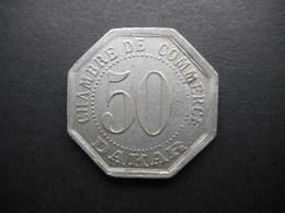 Senegal 50 Centimes 1920 Dakar  VERY RARE !!!!!!!! (KM# Tn6) - Senegal