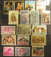 Spanien Mix Set Stamps Of Spain Espagne España Spagna Spanje Small Selection Of Fine Used 928 - 1961-70 Gebraucht