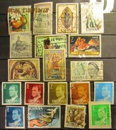 Spanien Mix Set Stamps Of Spain Espagne España Spagna Spanje Small Selection Of Fine Used 929 - 1961-70 Gebraucht