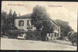 Hargarten 1909 Restauration Reuther Près De Creutzwald Falck Téterchen - Creutzwald