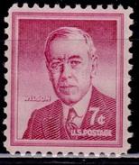 United States,1954-68, Liberty Issue, Woodrow Wilson, 7c, Sc#1040, MNH - Vereinigte Staaten