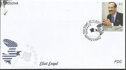 KOS 2017-16 ELIOT ENGEL, KOSOVO, FDC - Kosovo