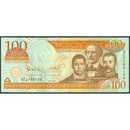 TWN - DOMINICAN REPUBLIC 177a - 100 Pesos Oro 2006 Prefix QZ - Signatures: Albizu & Bengoa UNC - Qatar