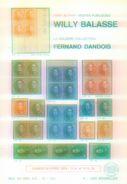 """""""Belgien - Sammlung Fernand Dandois"""" Willy Balasse 1110 - 1111. Auktion 1976 - Auktionskataloge"""